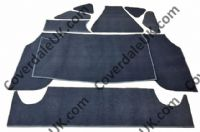 Austin Westminster A110 MkII 1964 to 1968 Boot Carpet Set inc. Boot lid - Wessex Wool Range